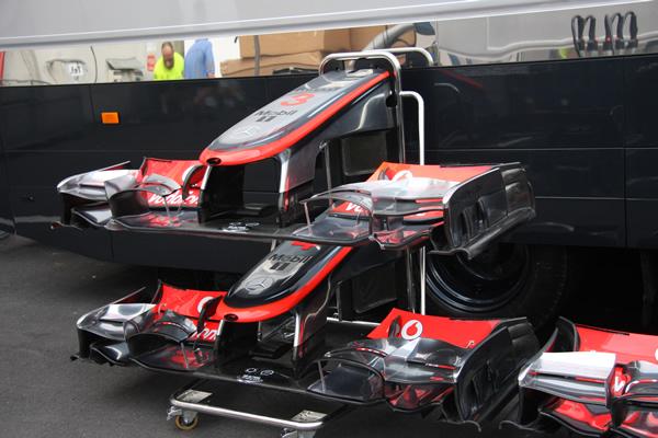 McLaren Frontal 1