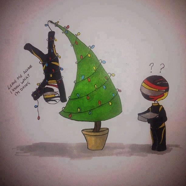 Felicitación Kimi Raikkonen - Navidad 2012