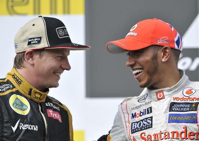 Kimi Raikkonen - Lewis Hamilton