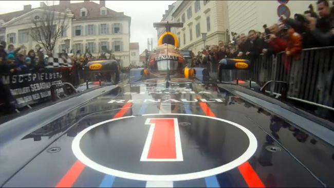 Sebastian Vettel Celebración Tercer título