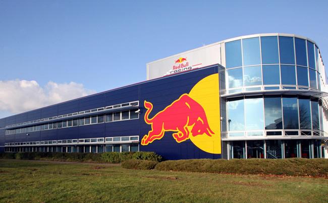 Red Bull fabrica