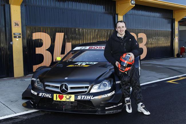 Kubica prueba DTM