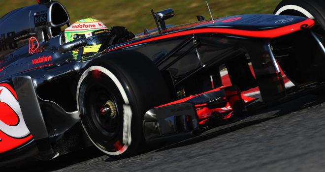 Sergio Perez McLaren Test Barcelona dia 2