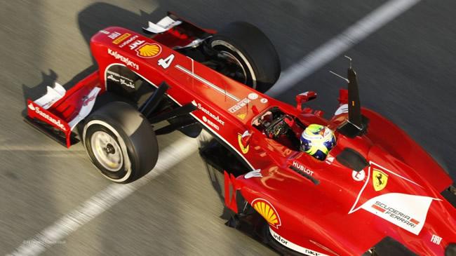 Felipe Massa Test Jerez 2013