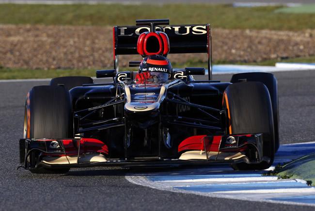 Kimi Raikkonen - Test Jerez 2013