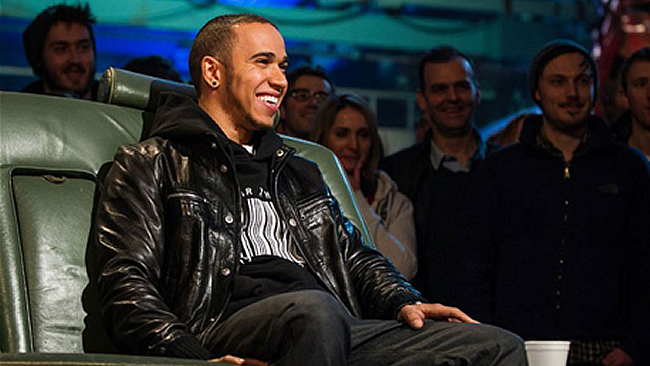 Lewis Hamilton - Top Gear 2013
