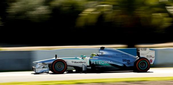Nico Rosberg - 1 dia Test Barcelona 2013