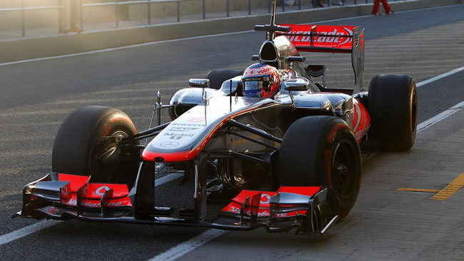 Test 1 Jerez - Jenson Button