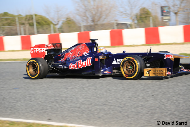 Jean-Eric Vergne - Test Bcn 2013 David Sarró