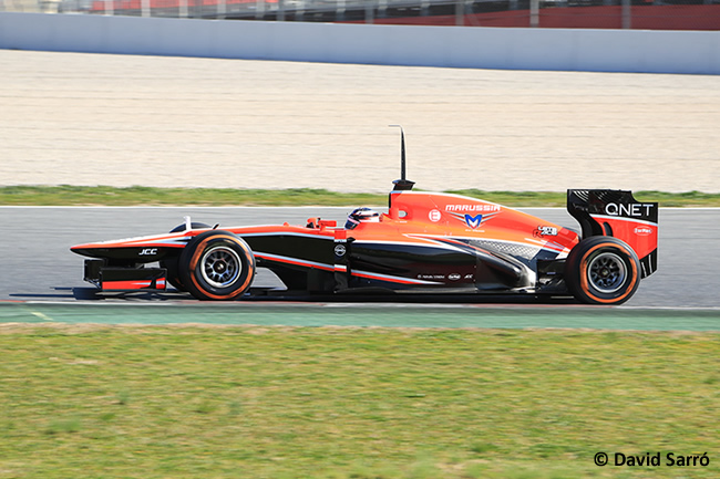 Jules Bianchi  - Test Bcn 2013 - David Sarró