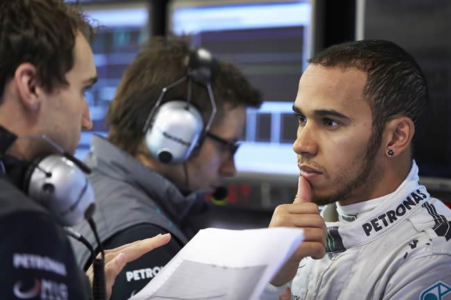 Lewis Hamilton - Mercedes -  Test Barcelona 2013
