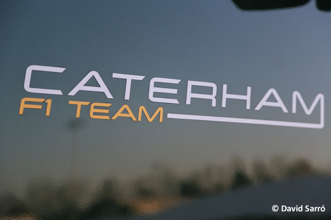 Logo Caterham - David Sarró