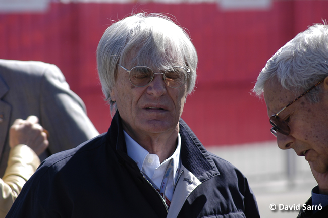 Bernie Ecclestone - David Sarró