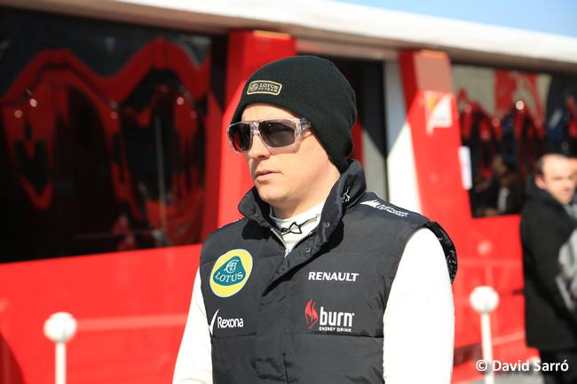 Kimi Raikkonen 2 - Test Barcelona 2013 - David Sarró