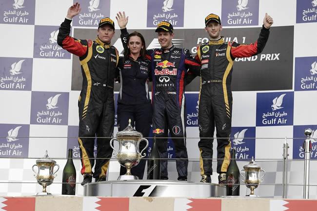 Vettel gana GP Baréin 2013