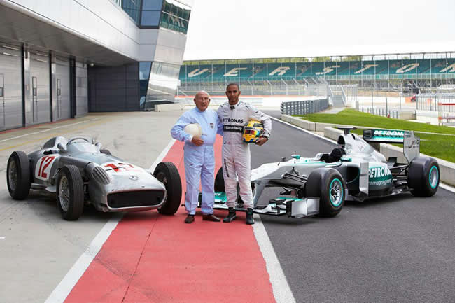 Stirling Moss - Lewis Hamilton
