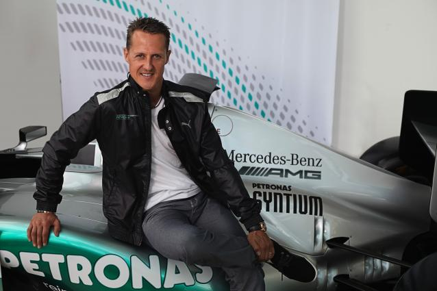 Michael Schumacher, F1 W03