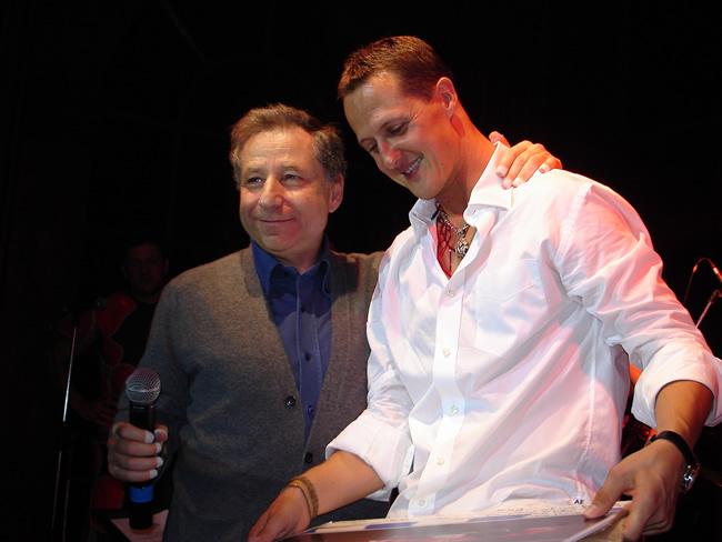 Resultado de imagen de Michael Schumacher Jean Todt