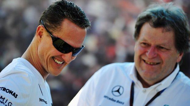 Michael Schumacher - Norbert Haug