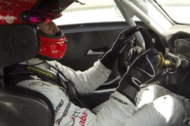 Michael Schumacher - SLS AMG GT3